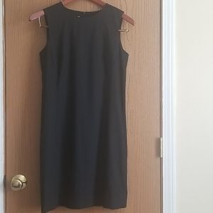Talbots Italian Wool Black Sheath Dress Size 6